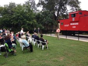 caboose dedication 2